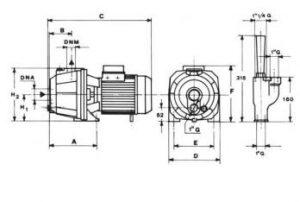 cấu tạo máy bơm hút sâu AP