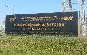 nhà máy điện mặt trời Tây Ninh